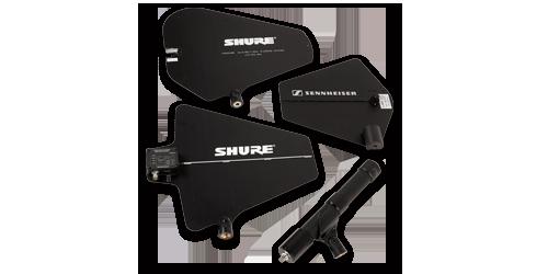 Antennen-Sennheiser-Shure
